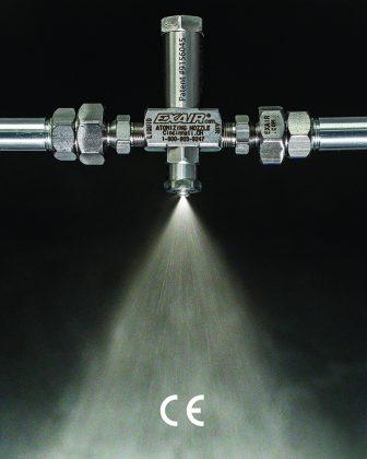 EXAIR, No Drip, External Mix, Atomizing, Spray Nozzles