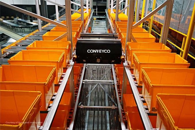 Conveyco Technologies TiltSort-Bot™ Autonomous Mobile Robot